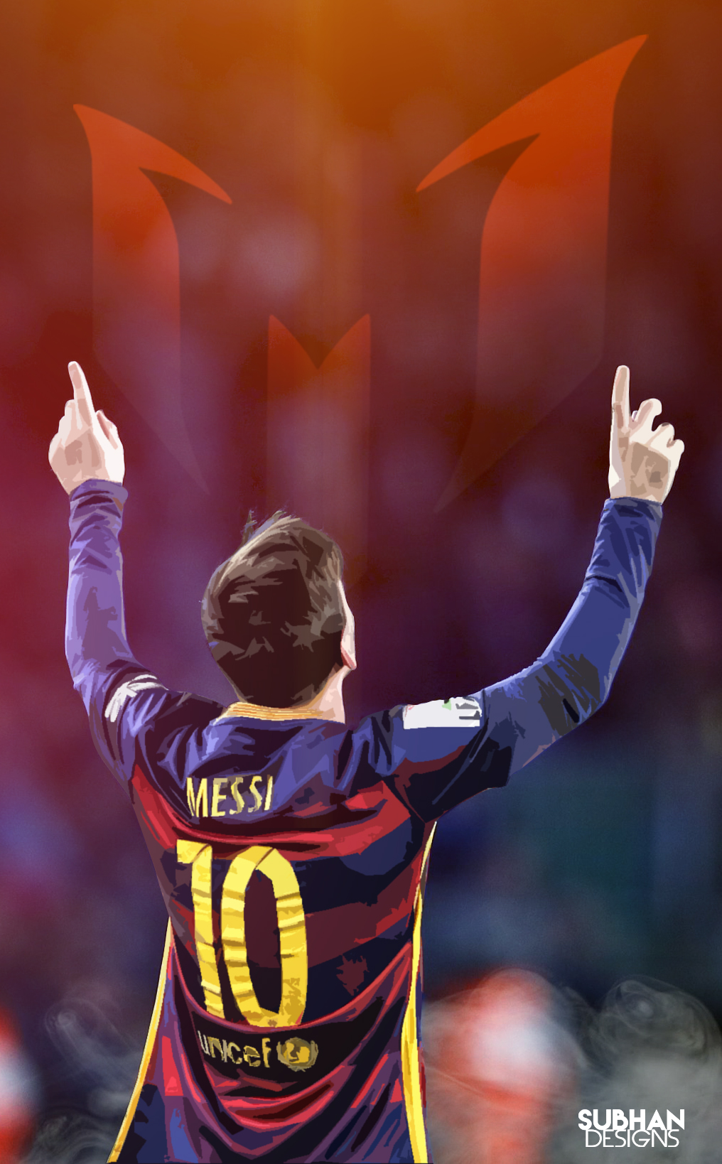 Messi Mobile Wallpaper 2016 By Subhan22 On Deviantart