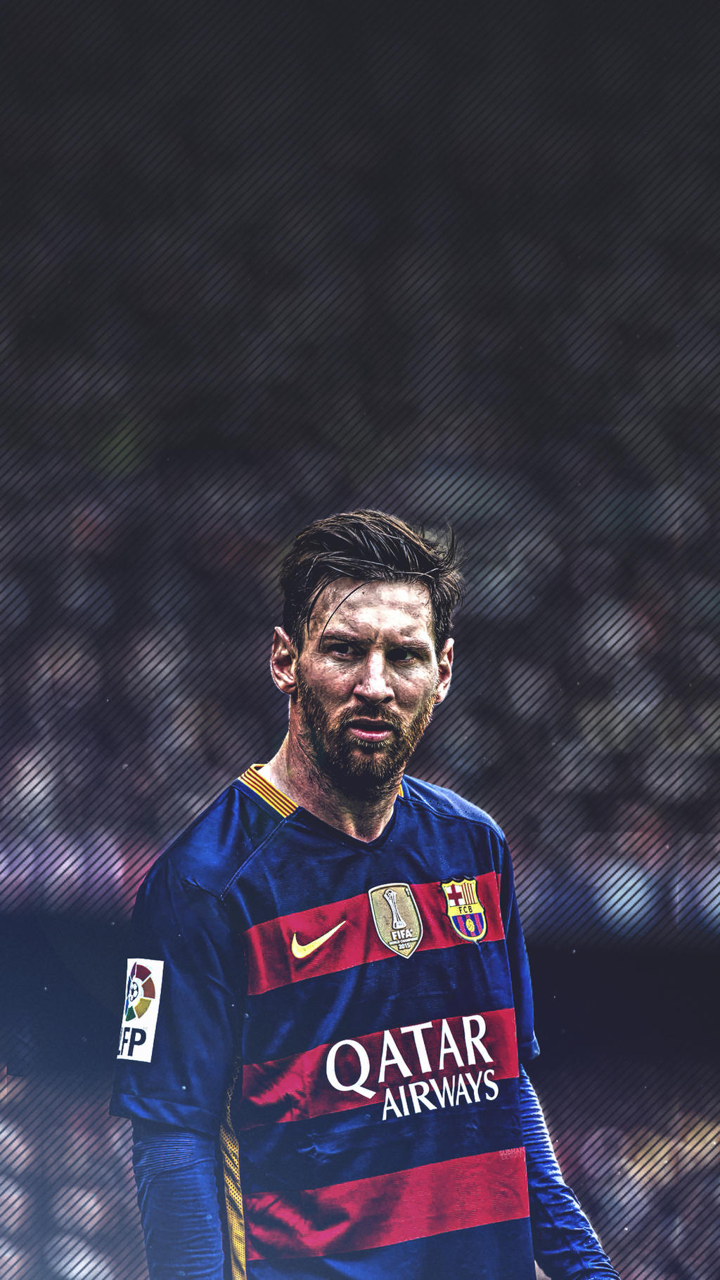 Lionel-Messi-Beard-Mobile-wallpaper-2016 by subhan22 on