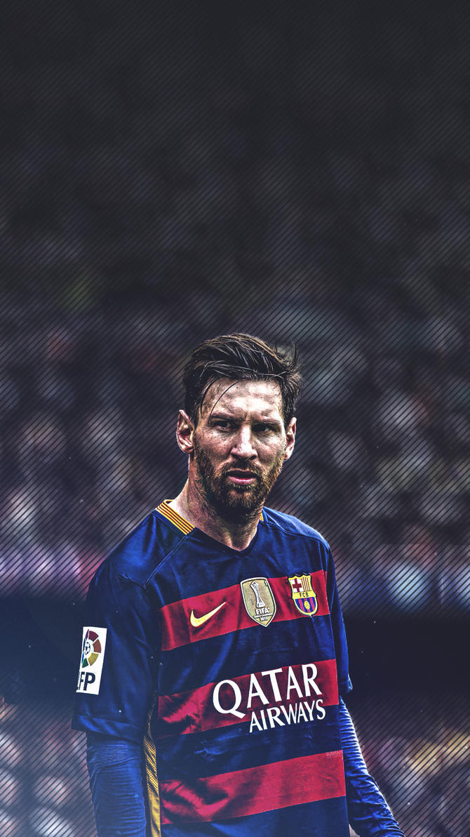 Lionel Messi Beard Mobile Wallpaper 2016 By Subhan22