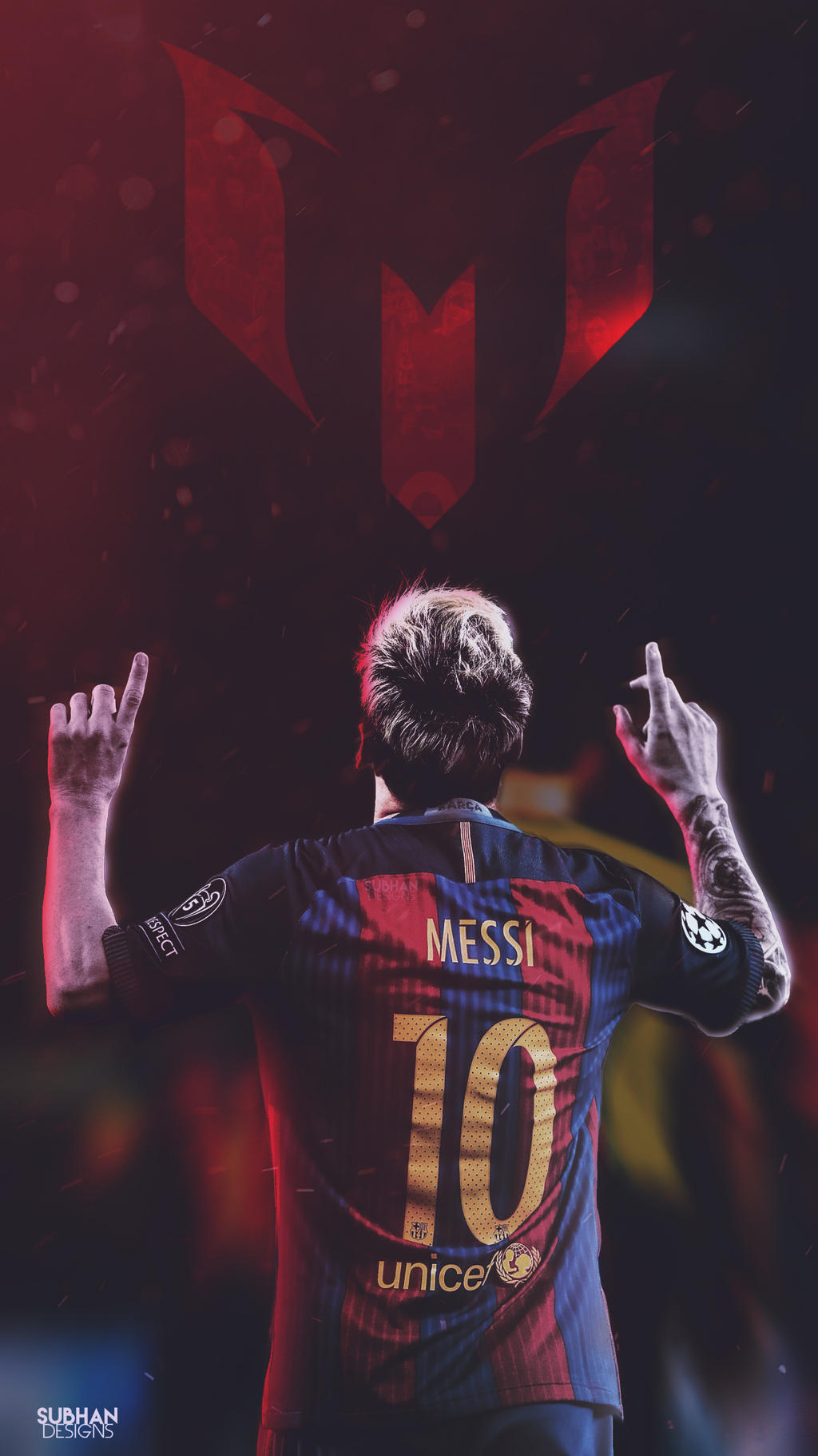 Lionel Messi 2016 17 Lockscreen Wallpaper Barca By Subhan22