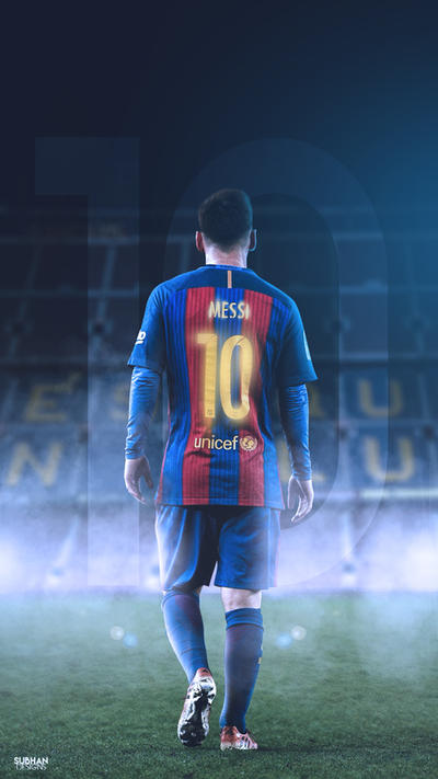 Messi Camp Nou 2017 Lockscreen Wallpaper HD By Subhan22
