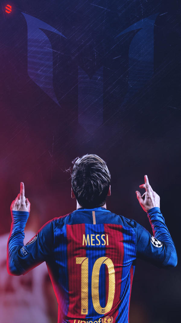 Messi Lockscreen 2017 Barca Mobile Wallpaper By Subhan22