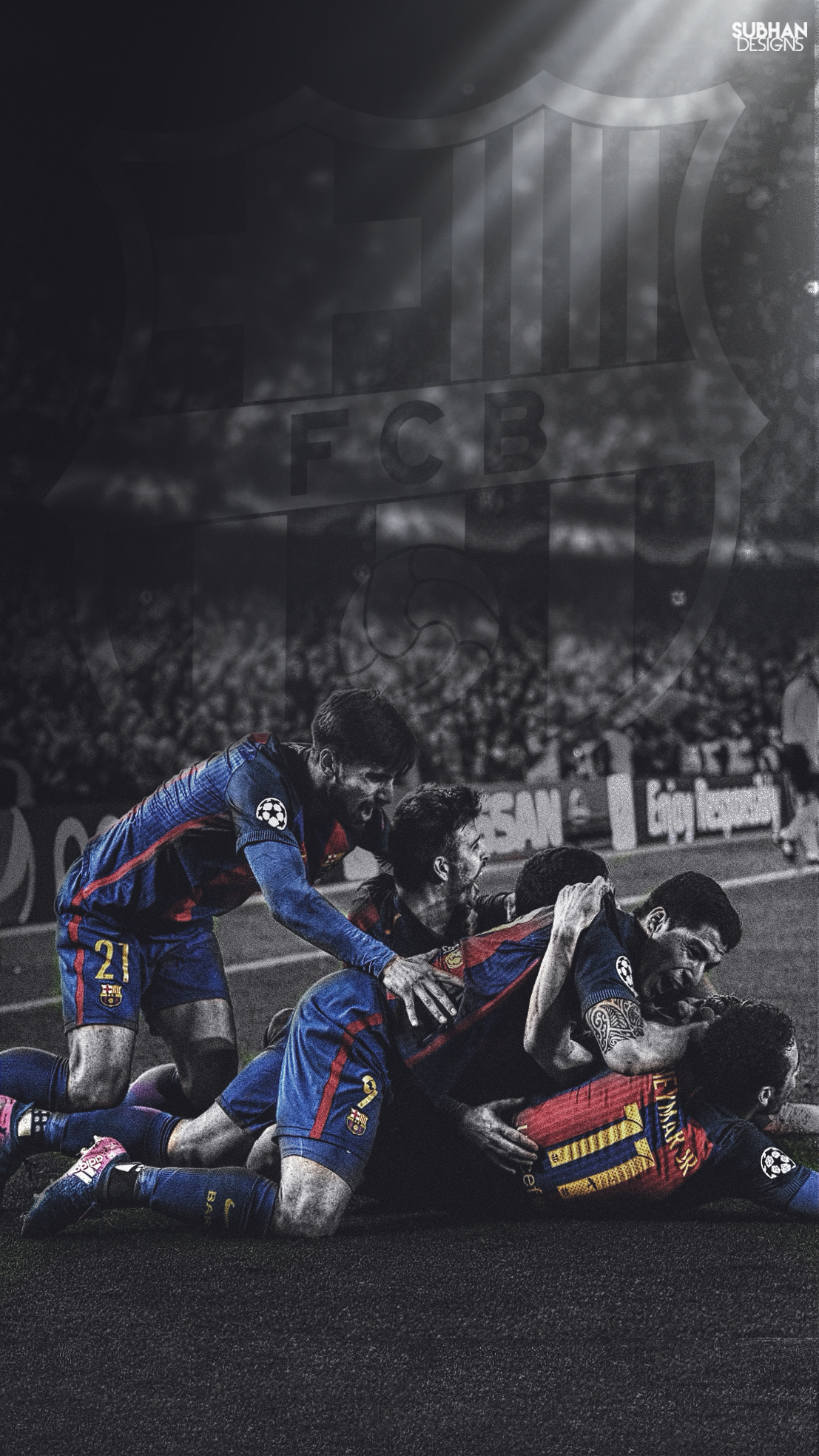 fc barcelona vs psg hd wallpaper 2017subhan22 on deviantart