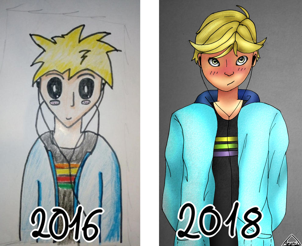 #4 Redraw Adrien by Azurii-art