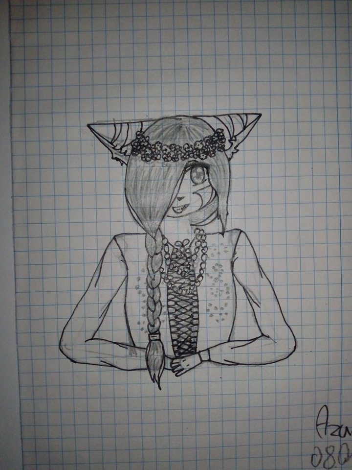 #8 Azurii as a Slav by Azurii-art