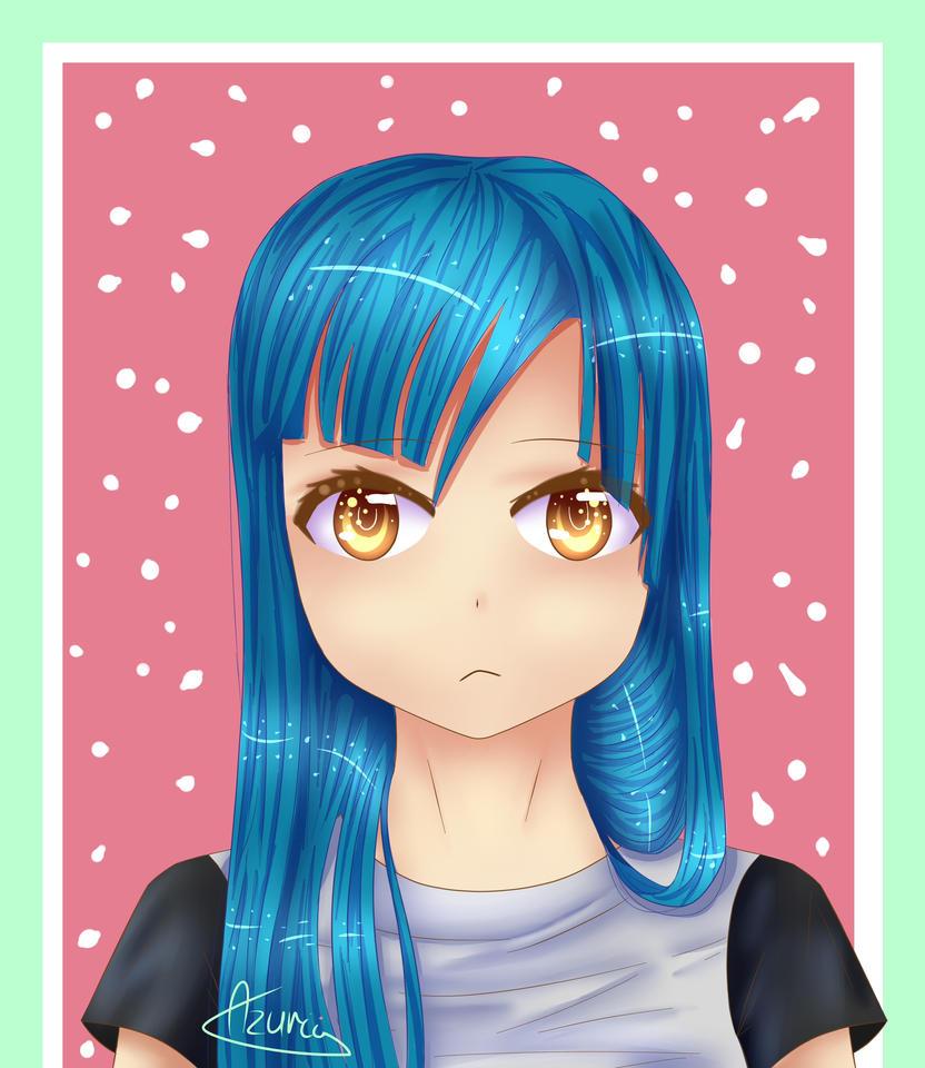 Random Girl by Azurii-art
