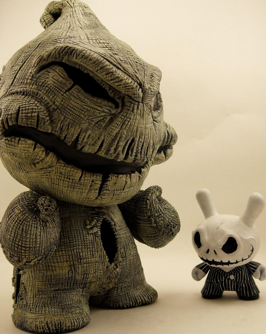 Oogie Boogie Wallpaper Oogie Boogie And Jack by