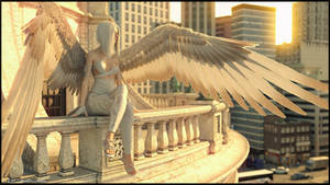 Angel in the City by QuanticDementia