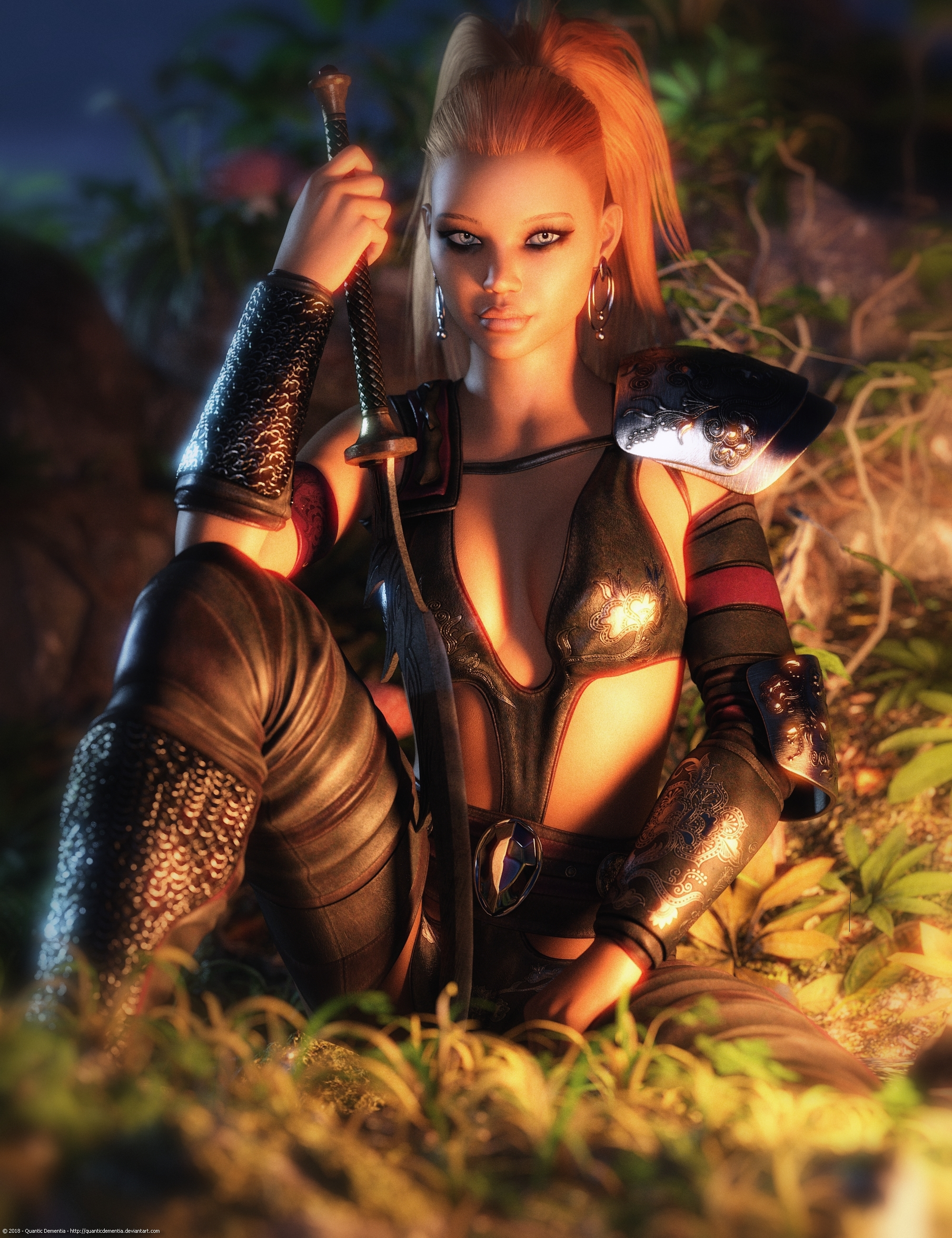 Promo Render - Syn Exotic Dancer for G3F by QuanticDementia