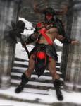 Promo Render - Axoran Demonic Armor Regalia G8M 2 by QuanticDementia