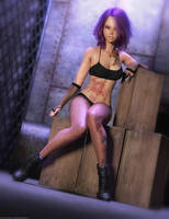 Promo Render - Cristina for Genesis 8 Female by QuanticDementia