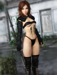 Promo Render - Yoona for Genesis 8 Female by QuanticDementia