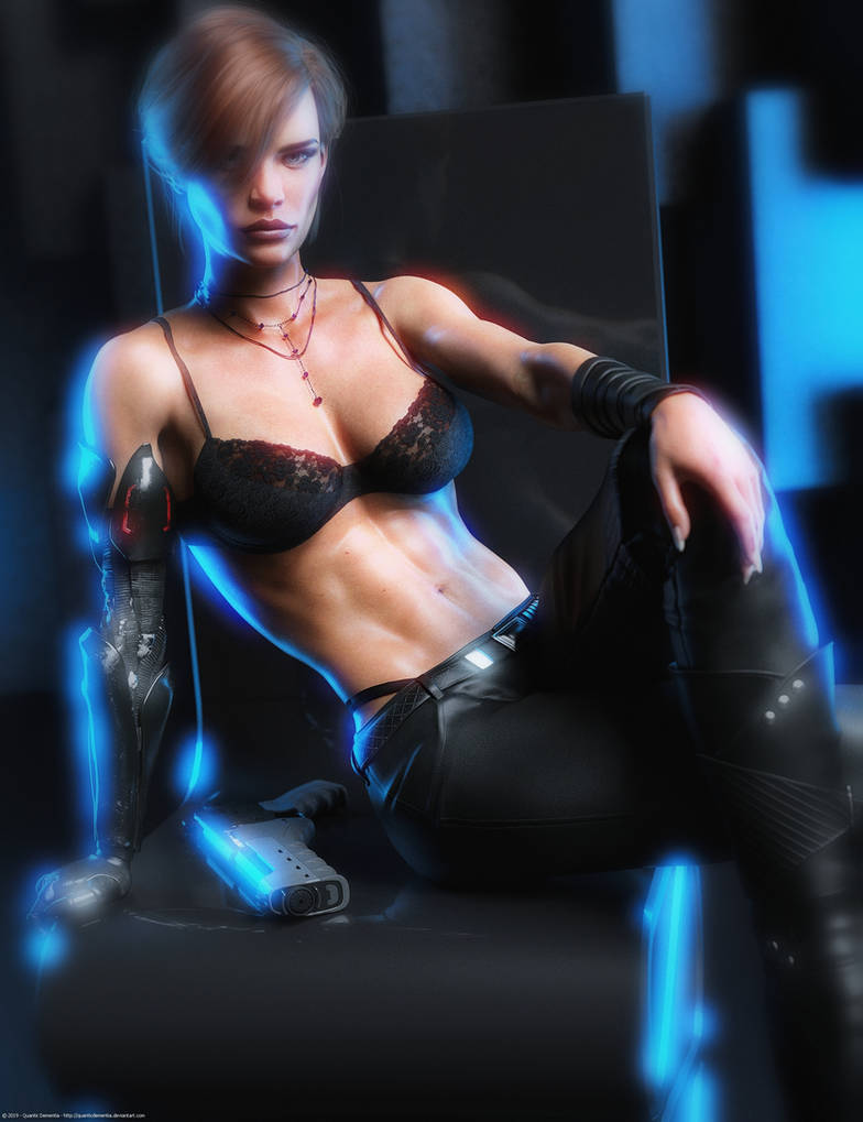 Promo Render - Arwen for G8F and V8 by QuanticDementia