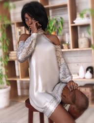 Promo Render - Insouciant dForce dress for G8F