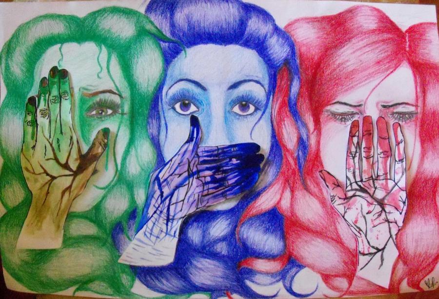 Fear. Lies. Shame. by xitsveronikiox