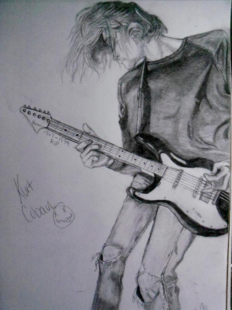 Kurt Cobain by xitsveronikiox