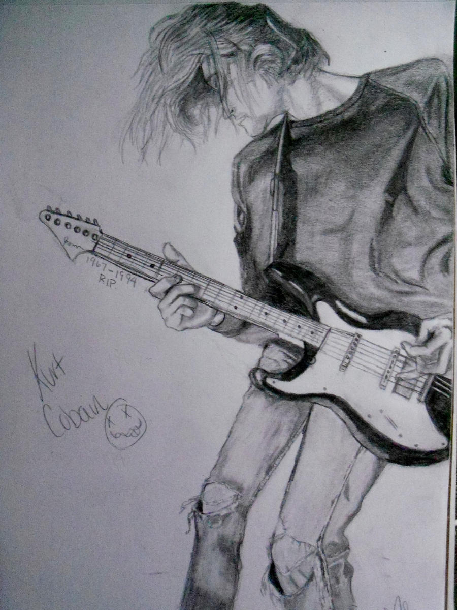 Kurt Cobain by xitsveronikiox