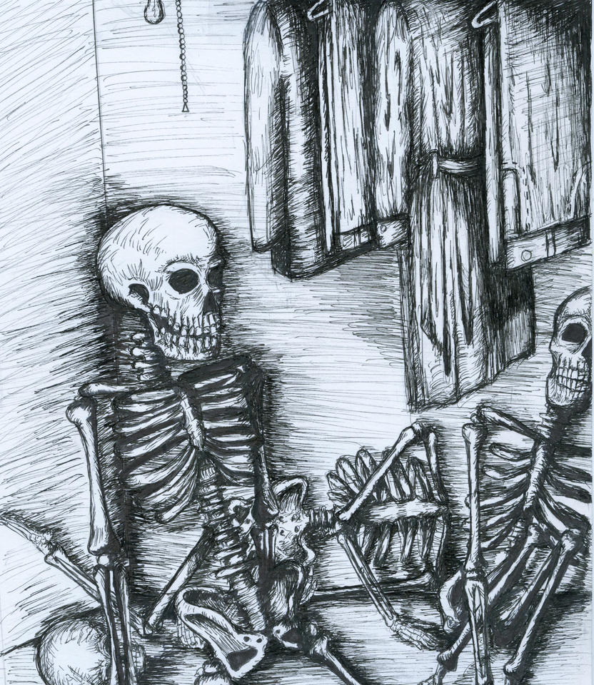 Skeletons in the closet by xitsveronikiox