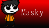 Masky Stamp by Unattentive-Teen