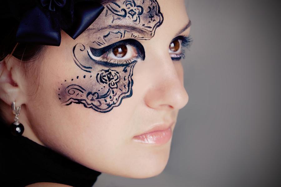 Black lace II by ideea