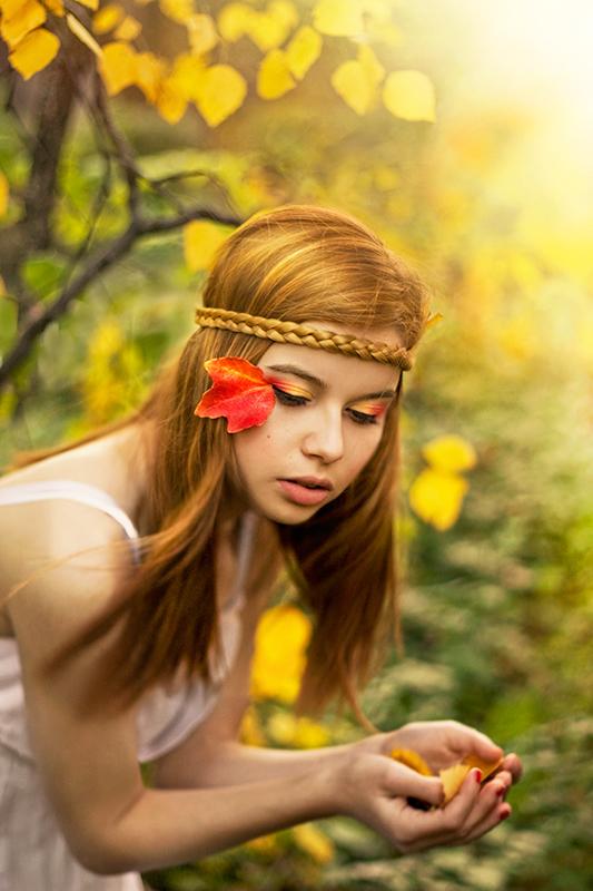 Autumn fae by ideea