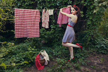 Laundry Day III by ideea