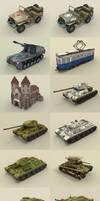 Panzers scroller