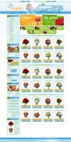 Flower shop page