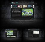 3D visualization company site