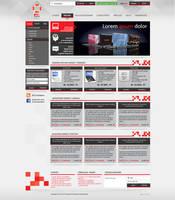 PCszerviz redesign by floydworx