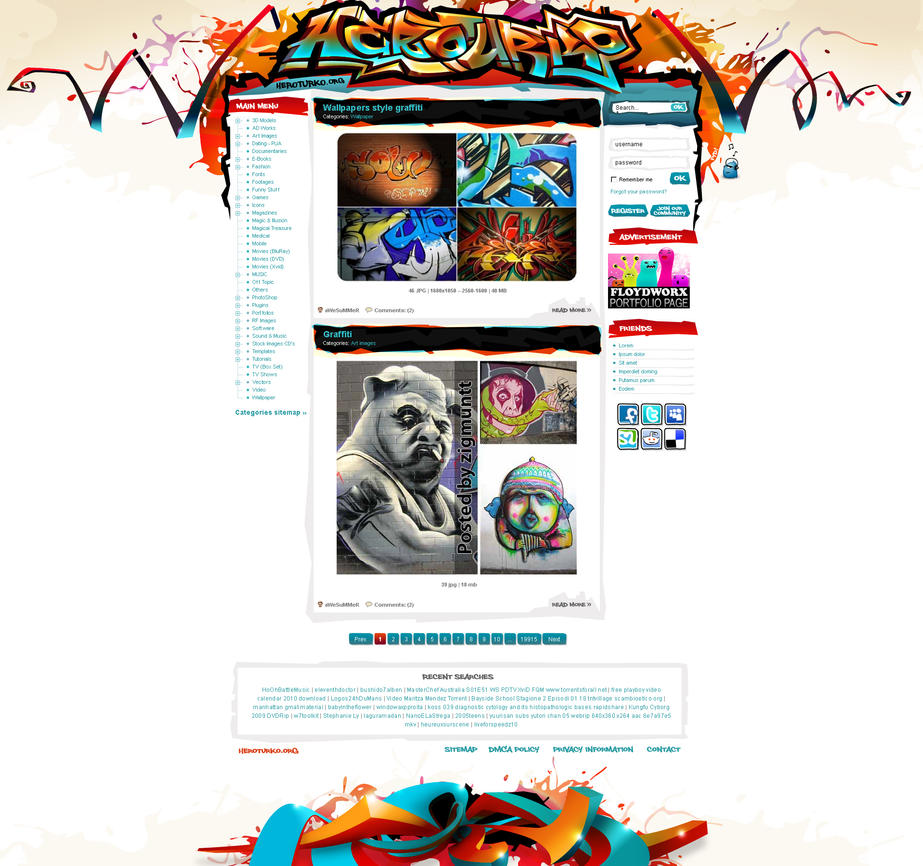 heroturko siteplan by floydworx d30hv47 Web Design Inspiration: Inspiring and Creative Web Interface Designs
