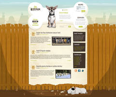 En-kutyam 'My dog' site design