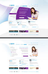 IQSYS site redesign versions by floydworx