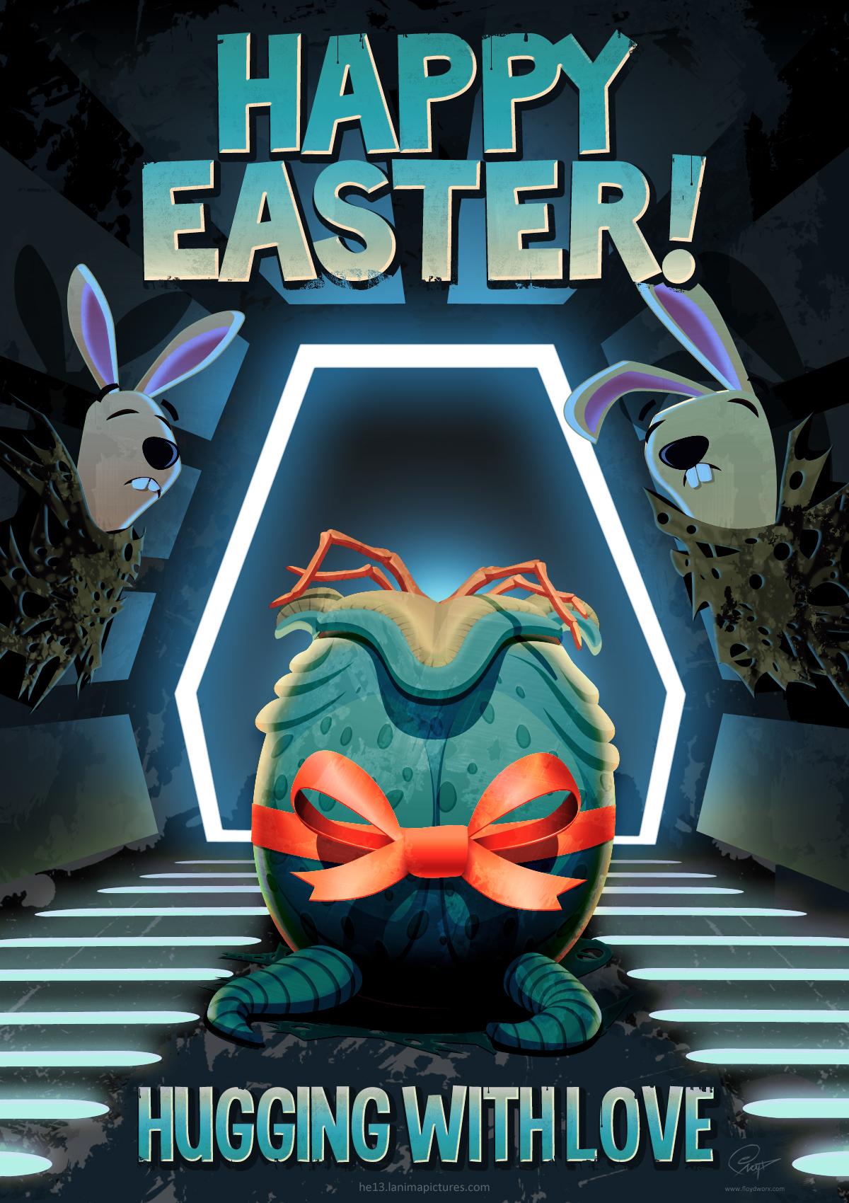 Alien easter egg by floydworx