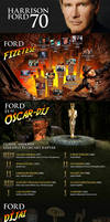 Harrison Ford 70 infographics