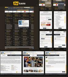 TV program guide UI by floydworx