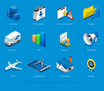 Icons for an infographics