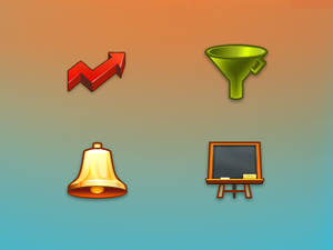 Icons for an app site
