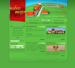 Homepage for a farm
