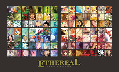 Ethereal Artbook teaser by GreyRadian