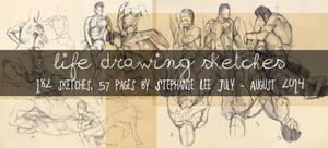 Life Drawing sketch complilation