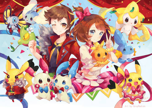 Pokemon ORAS Contest!
