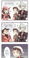 STUNNING MALE SPECIMAN - Pokemon ORAS comic