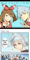 Why You're not a Girl in the ORAS Demo