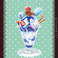 Pocket Dolce 2 - Squirtle by GreyRadian