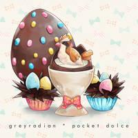 Pocket Dolce 5 - Pidgey by GreyRadian