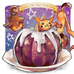 Halloween Treat! - Pocket Dolce by GreyRadian