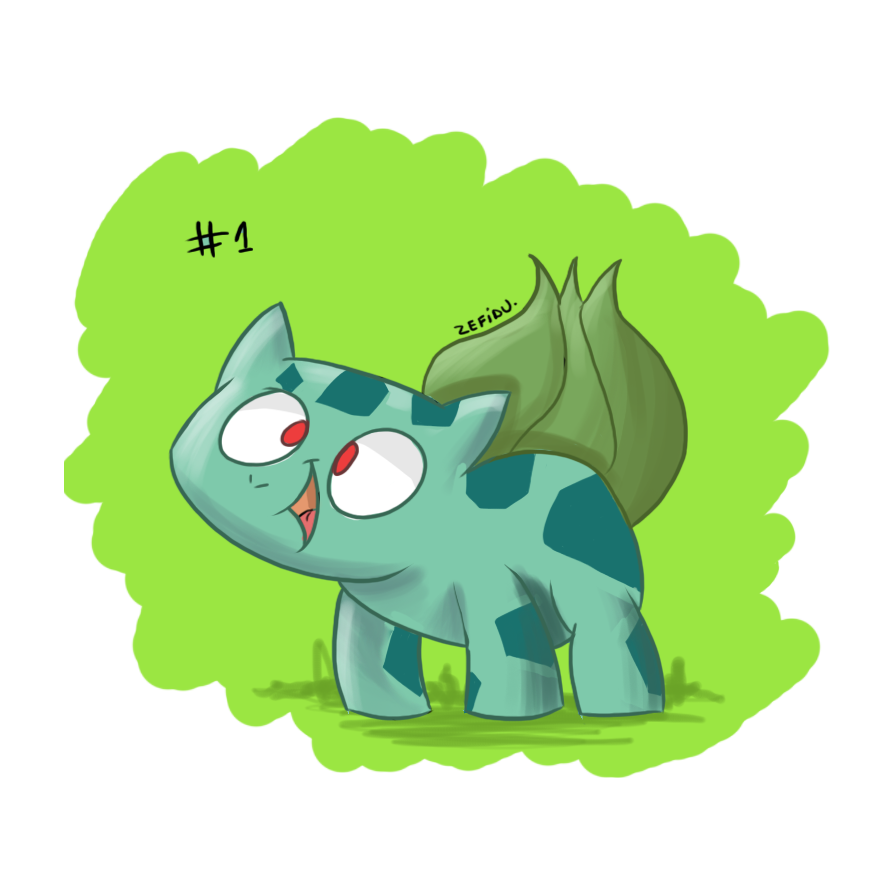 Bulbasaur by Zefidu