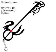 Operators Call-A Slenderman Keyblade by Casandraelf