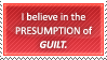 Presumption of Guilt by Survey-chan